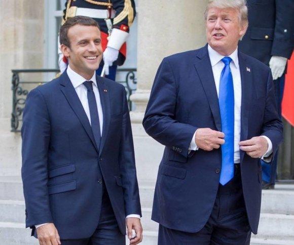 Трамп и Макрон обсудят ядерн…