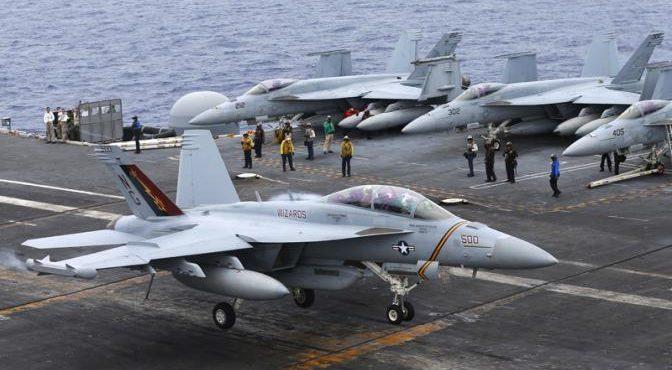 Американские пилоты пересаживаются на авиахлам