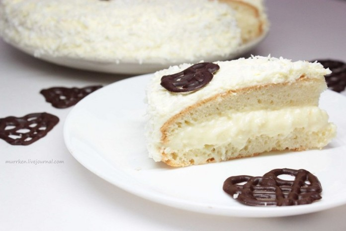 Этот тортик произвел настоящий фурор — Торт-рафаэлло с нежнейшим кремом
