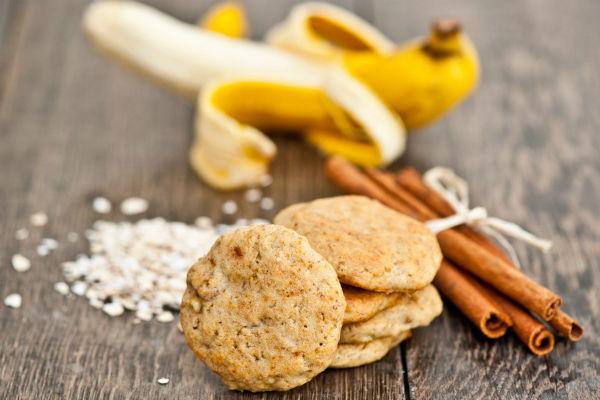 Печенье геркулесовое с бананами. Без вреда для фигуры