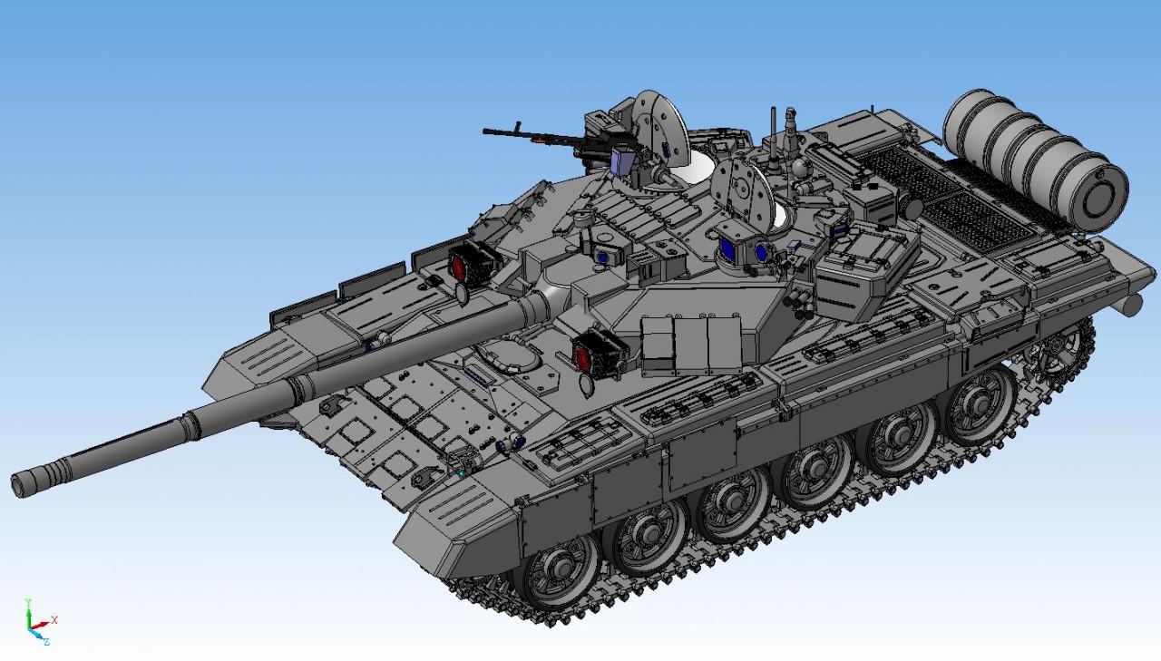 Компоновка т-50-1