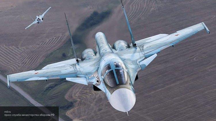 Самолет Ан-12 и два вертолета Ми-8 отправились на поиски пилотов Су-34 - Минобороны РФ