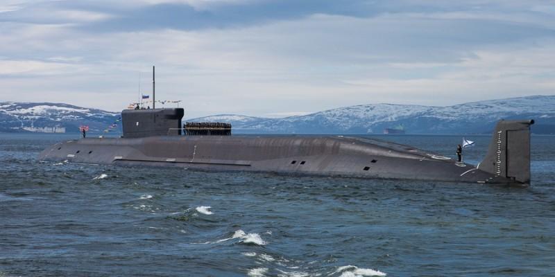 Российский атомный ракетоносец испытали в море