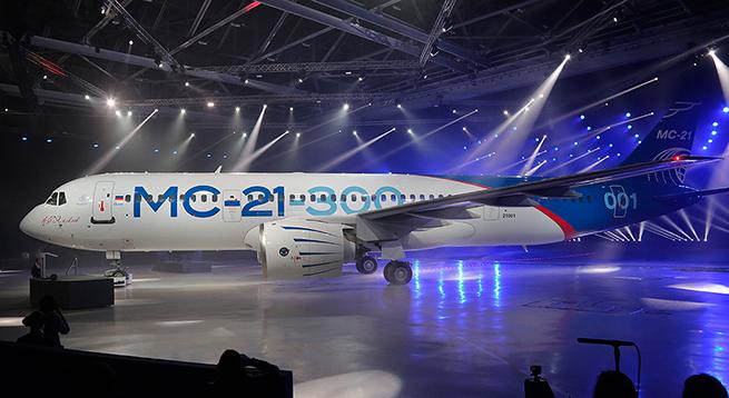 Самолет МС-21: Вопрос о новом названии лайнера больше не стоит