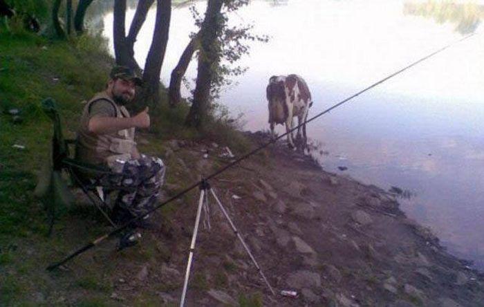 курьезы рыбаков