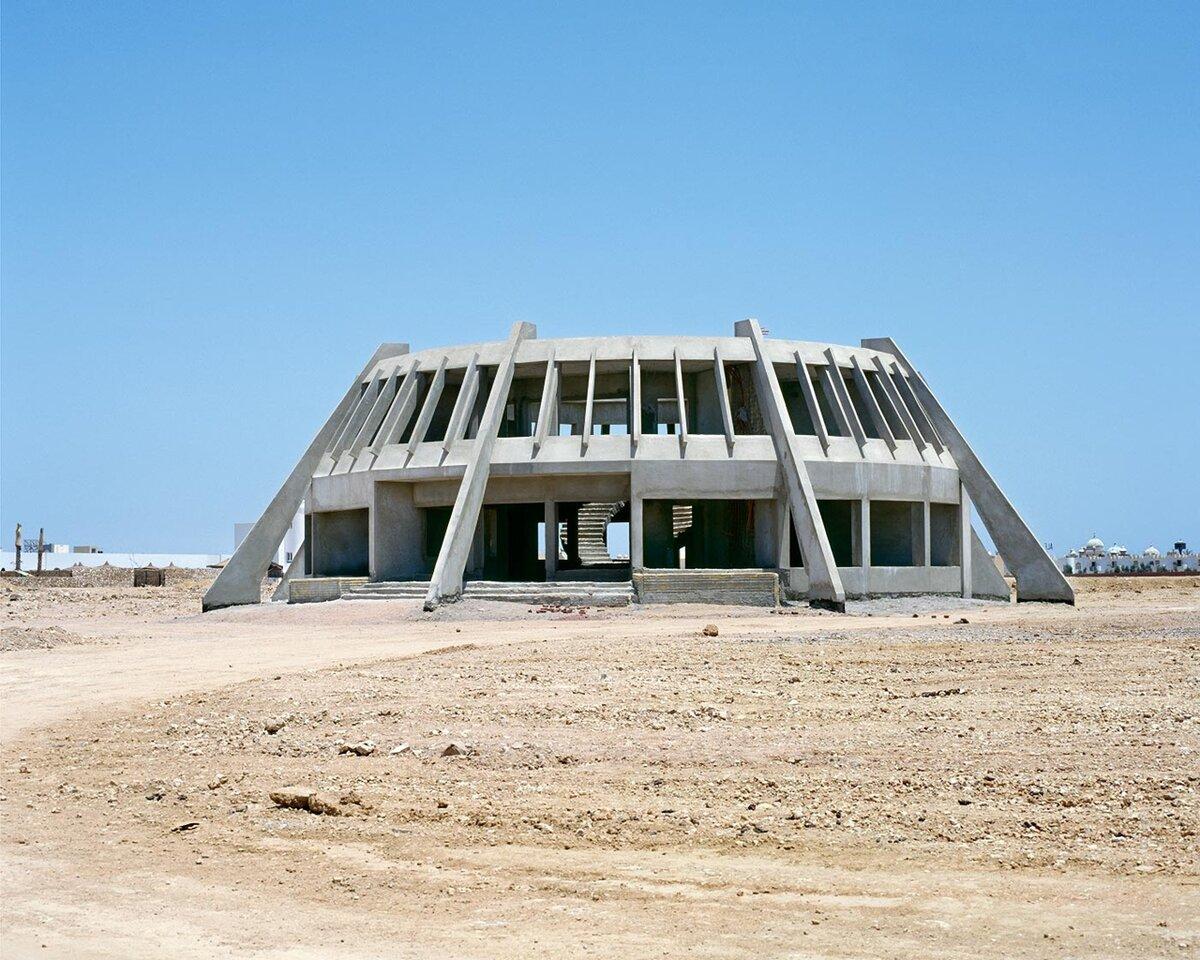 Затерянные и заброшенные отели в Египетской пустыне
