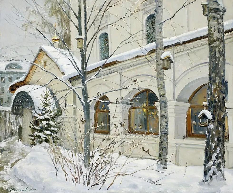 Душевная живопись Олега Молчанова