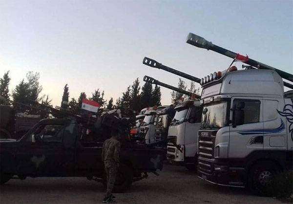 Боевики из Идлиба атаковали войска САР и получили жесткий отпор