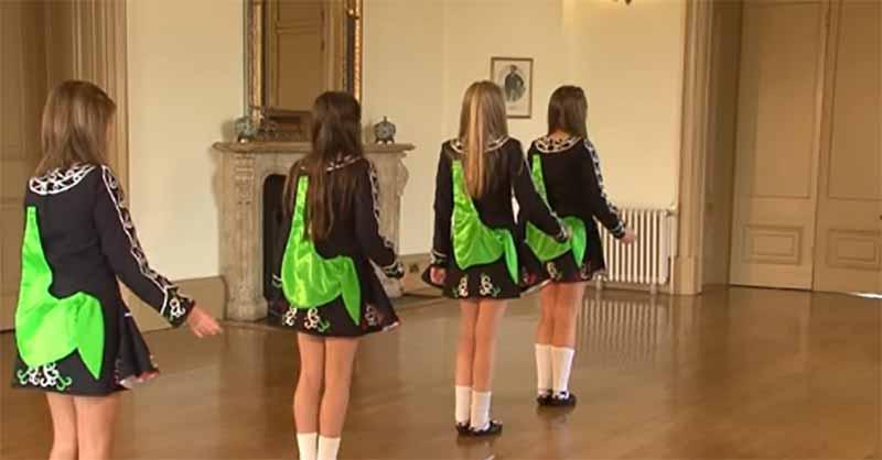 Как танцевать ирландский танец.