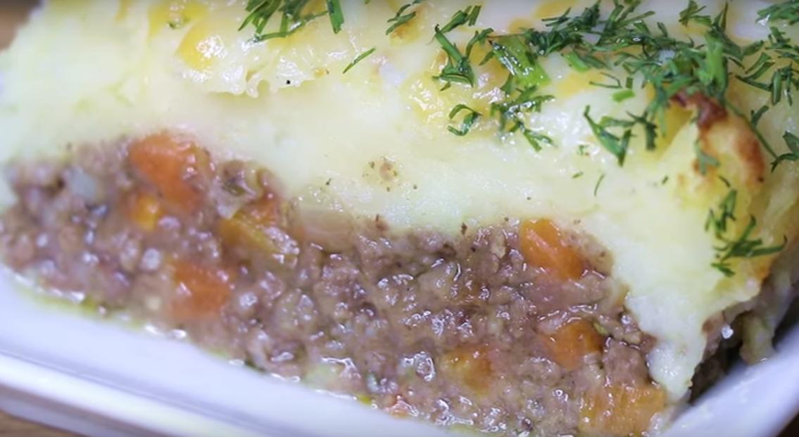Необыкновенно вкусное блюдо из картофеля с мясом