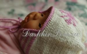 вязаная шапочка для малыша