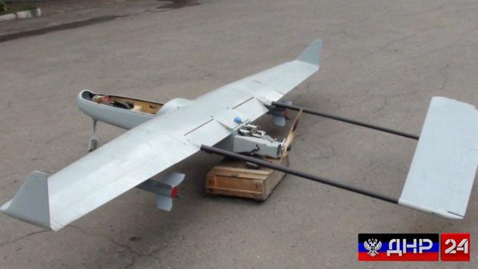 ПВО ЛНР сбила украинский беспилотник с боевым зарядом