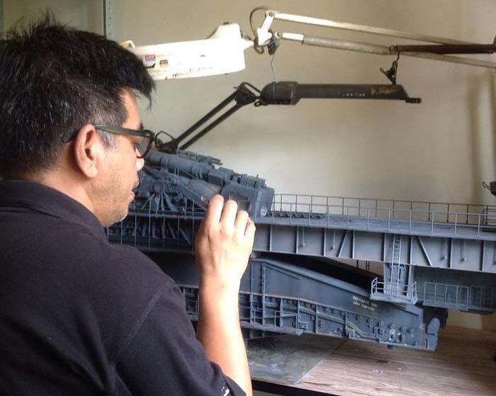 Диорама тяжелой немецкой пушки «Дора» (7 фото)