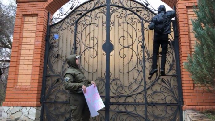 Украинские нацисты попыталис…