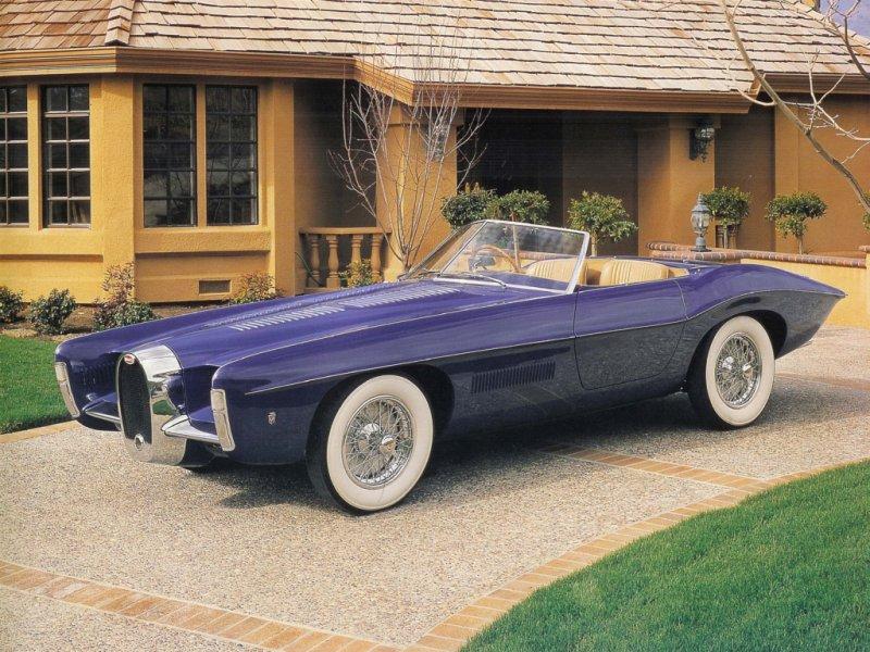 Последняя великая Bugatti - Type 101C Roadster