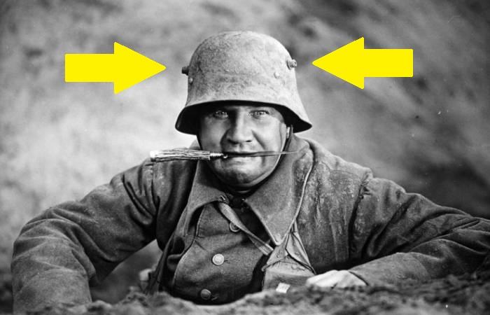 Зачем нужны рожки на немецких шлемах?