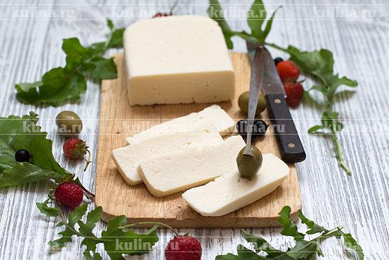 Домашний сыр с козьим молоком