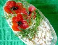 Праздничный салат «Маковое поле»