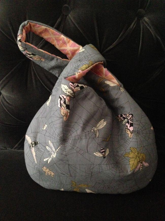 Японская сумка-узелок своими руками