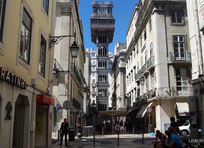 1. Elevador de Santa Justa, Лиссабон история, лифт, мир, необычно, путешествия, факты