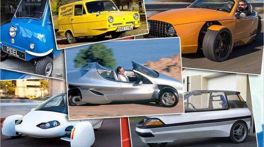 Трехколесные автомобили: Минус одно колесо