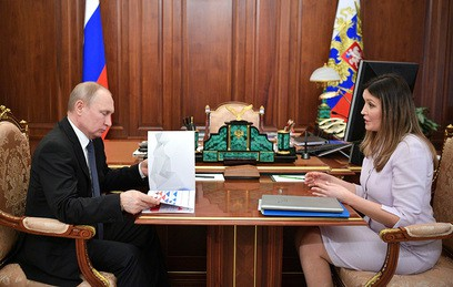 Путин провел встречу с гендиректором Агентства стратегических инициатив