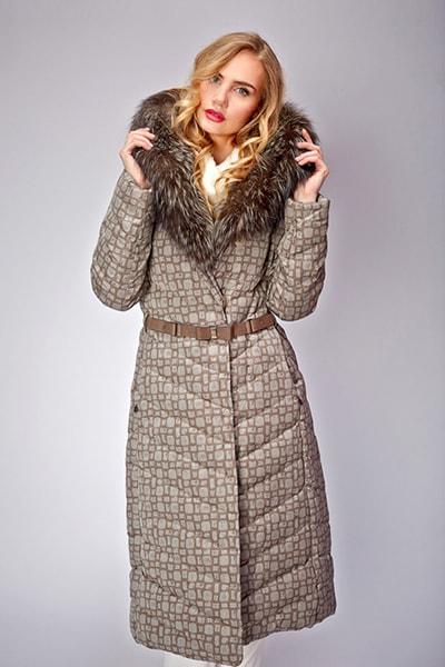 Оригинальное пальто-пуховик: как выбрать и с чем носить? 27 фото