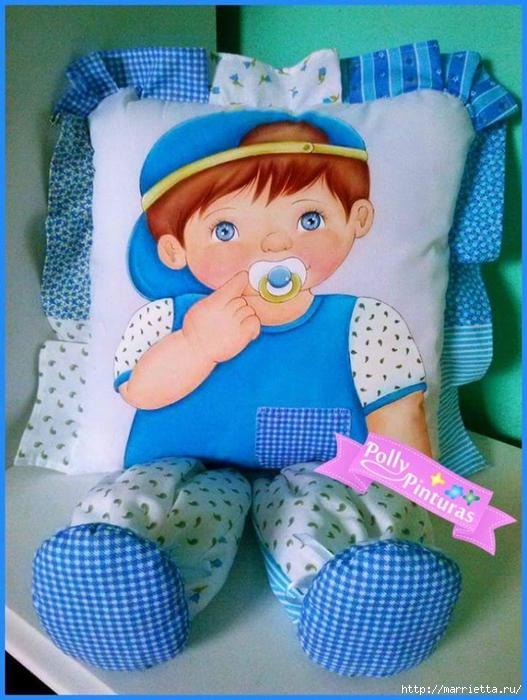 Куклы своими руками подушки 917