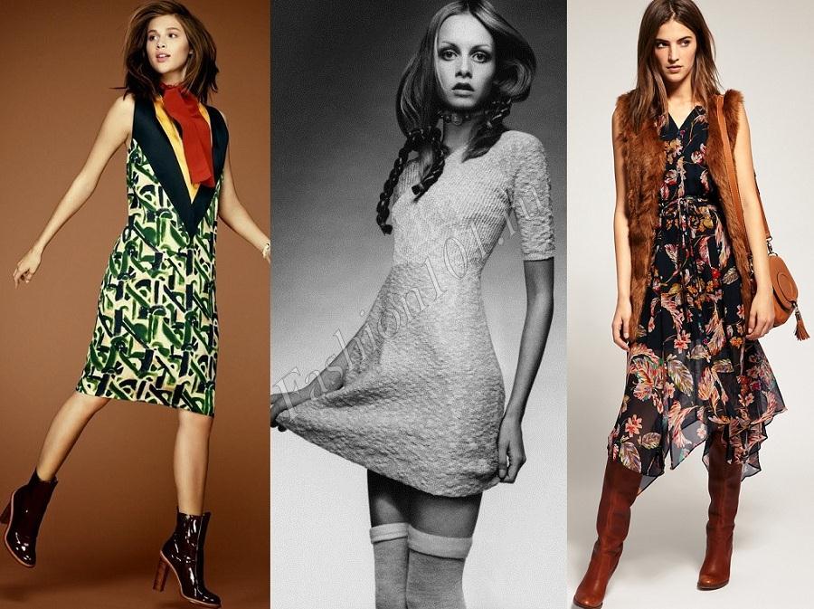Купить Платье В Стиле 70 Х Годов
