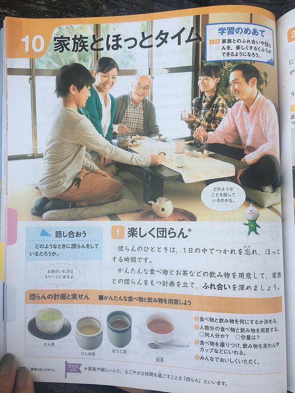 Японский школьный учебник по домашнему хозяйству