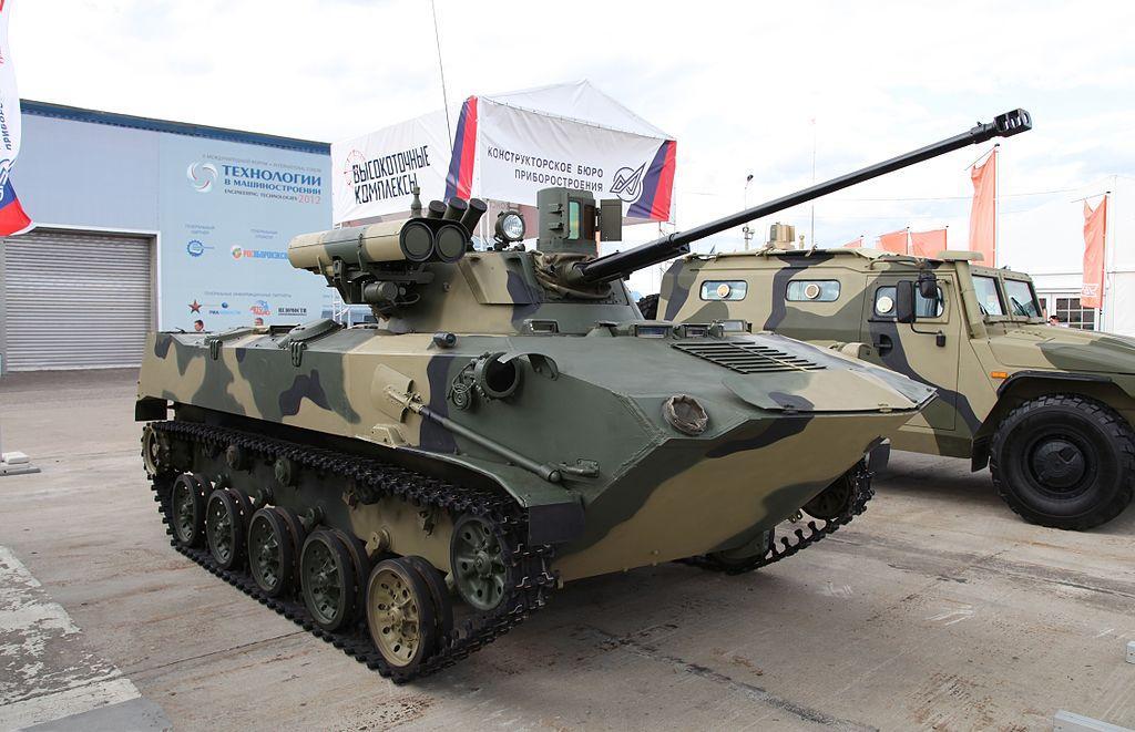 Планируется модернизация около 600 боевых машин десанта БМД-2