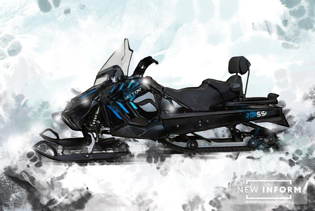 РФ перешла к новому поколению техники: начато производство снегохода RM Vector 551i