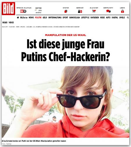 Эта молодая девушка – главный хакер Путина?