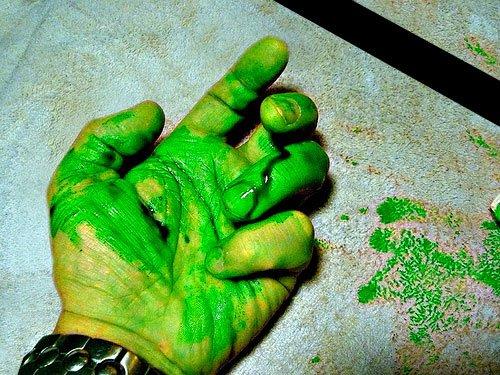 История человека с зелёной кровью