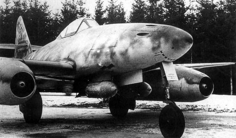 Реактивный истребитель Me.262: позор и деградация люфтваффе