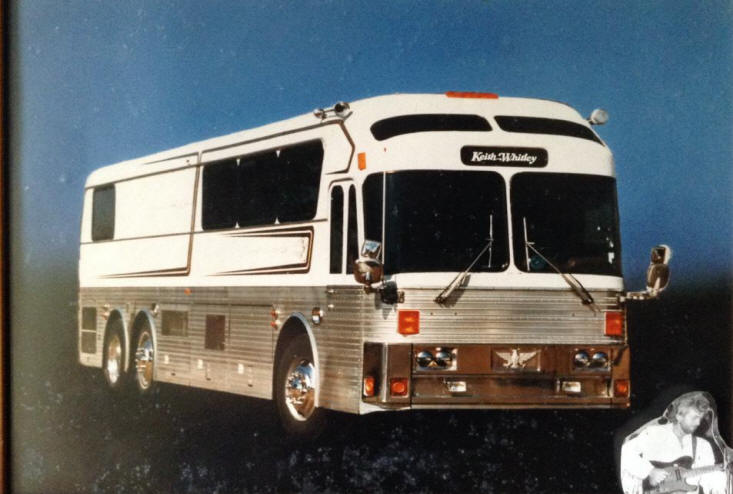 Keith Whitleys Tour Bus