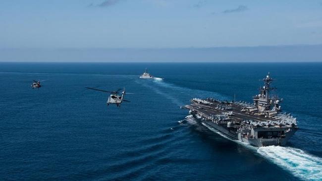 СМИ: США могут оставить авианосец вСредиземноморье для сдерживания России