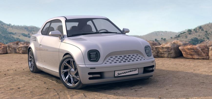 Этот дизайн-проект показывает, как бы мог выглядеть ЗАЗ-965, если бы выпускался сейчас