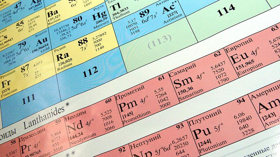 Российские химики нашли «остров сверхпроводимости» в таблице Менделеева
