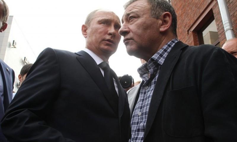 Крымский мост, Владимир Путин и «путинские олигархи»