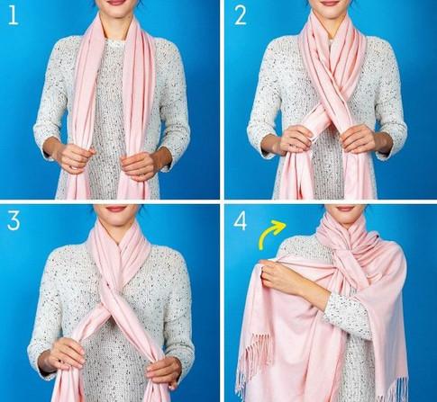 8 красивых способов дополнить образ с помощью шарфика. На заметку!