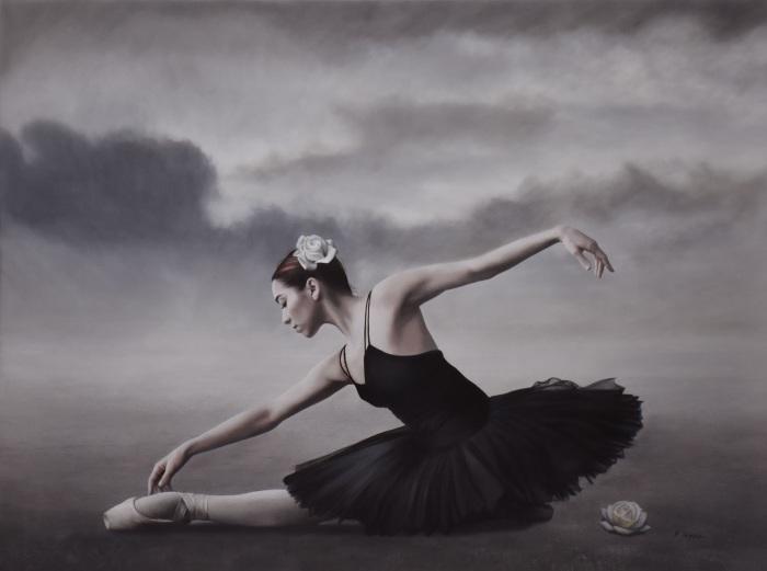 Хмурое небо для балерины. Автор: Brita Seifert.