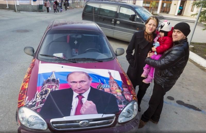 Аэрография с Путиным