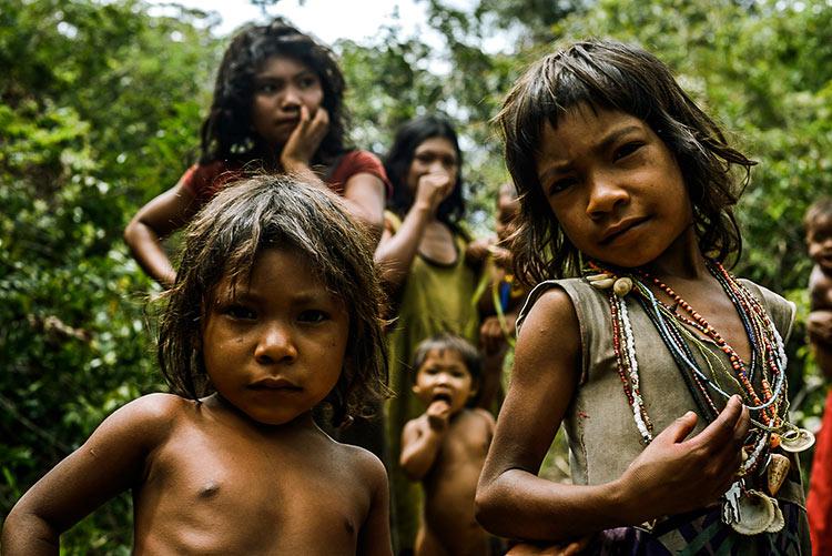 дикие племена джунглей