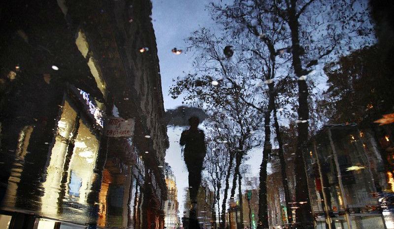 Поэзия дождя в фотографиях Кристофера Жакро