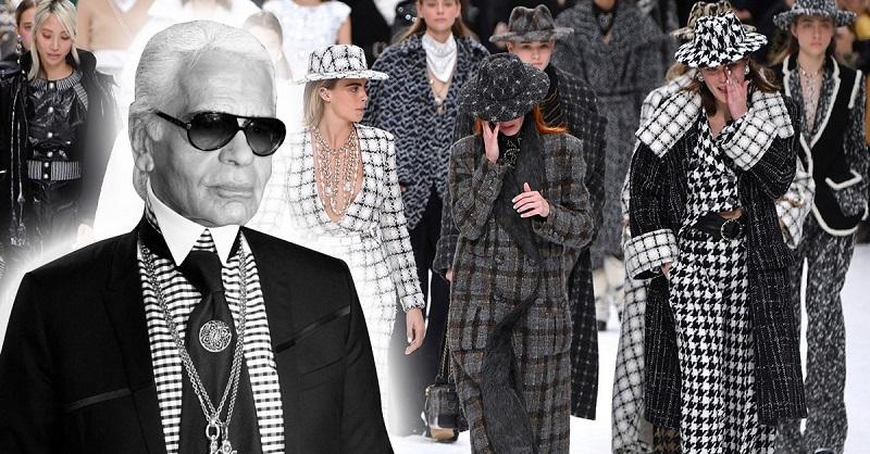 Последняя коллекция Карла Лагерфельда для Chanel