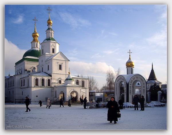 На территории Свято-Даниловского монастыря