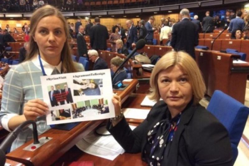 Майдауны свергают власть в ПАСЕ и требуют себе кресло президента Ассамблеи