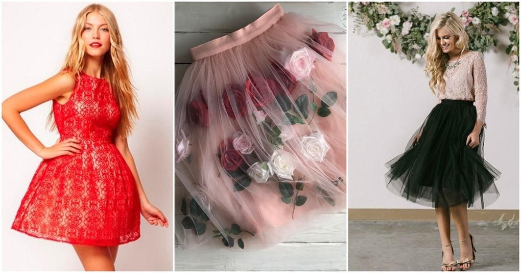 Стильная юбка к Новому году.…