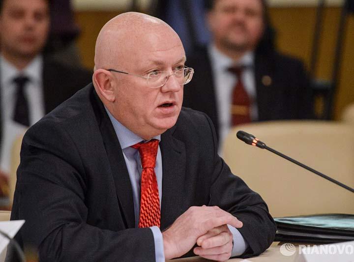 Василий Небензя опять вступил в пикировку с США и их холуями в Совбезе ООН